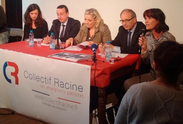 Deuxième anniversaire du Collectif Racine (Lille, 17 octobre 2015), en présence de Marine Le Pen (VIDEOS)