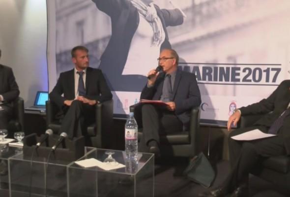 Vidéo de la Convention présidentielle de Marine Le Pen sur l'Ecole et l'Enseignement supérieur